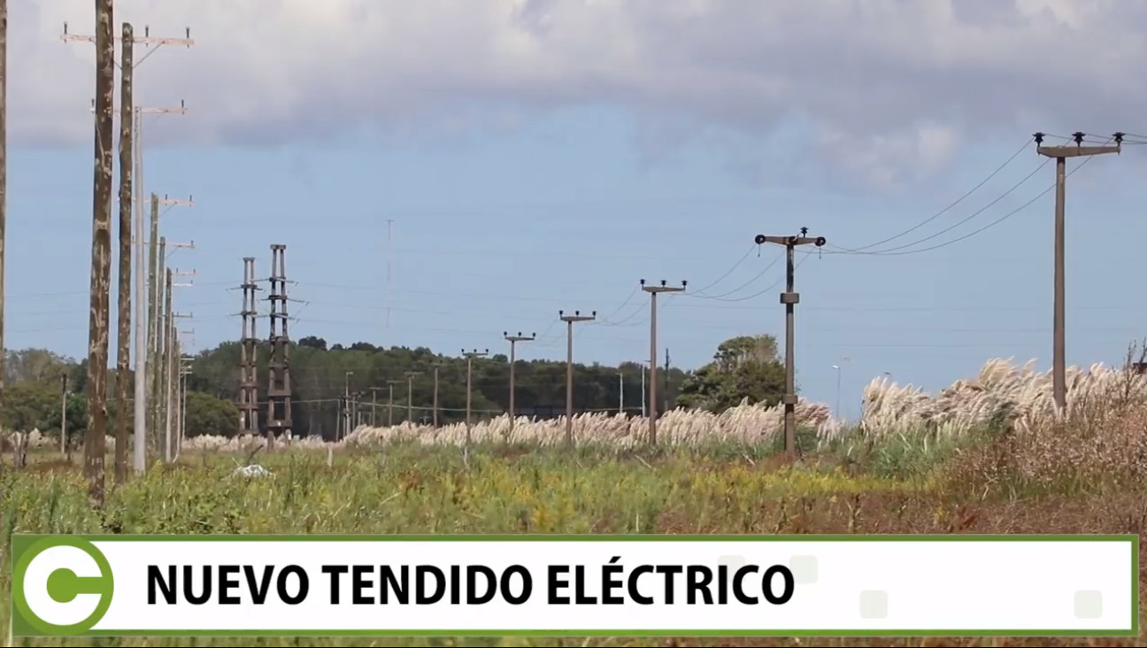 Nuevo tendido eléctrico para La Lucila, Costa Azul y Aguas Verdes